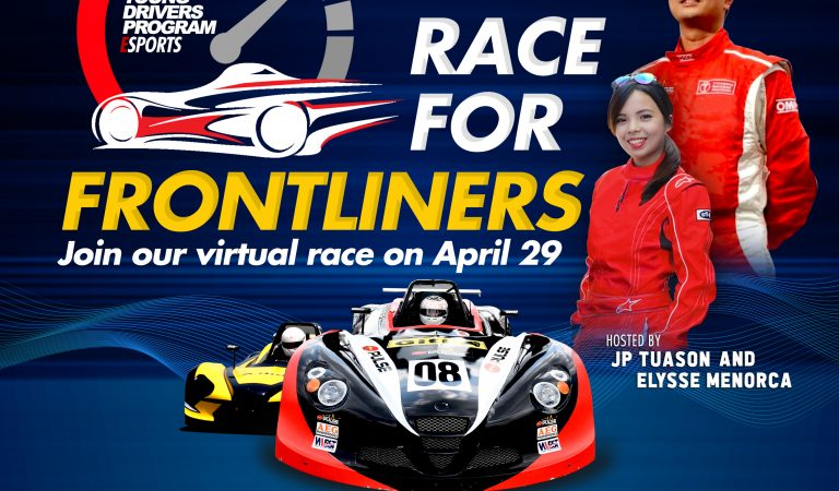 Race for a cause: Join Tuason Racing's Race for Frontliners and help flatten the curve