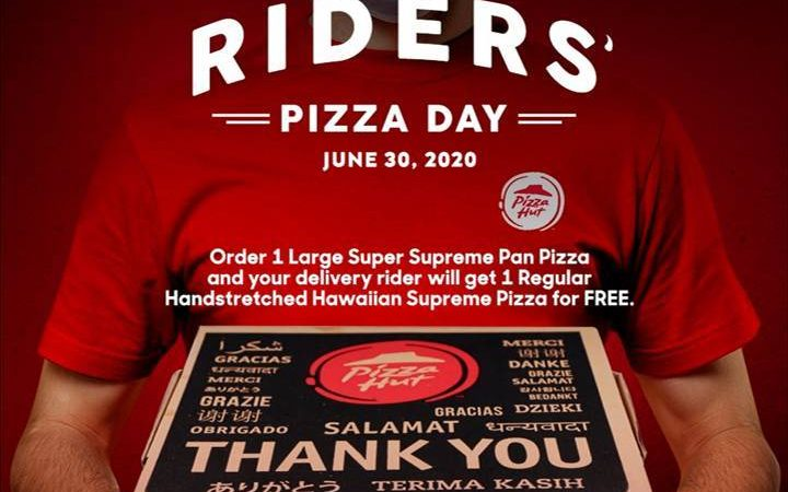 Pizza Hut celebrates delivery riders through Rider's Pizza Day