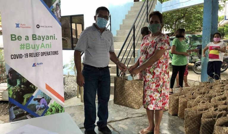 Ayala Foundation's 'Project #BuyAni' to provide food assistance for 10,000 fami-lies