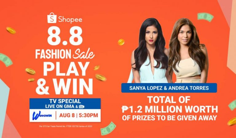 Catch the Shopee 8.8 Play & Win TV Special on Wowowin and Win a Total of ₱1.2 Million Worth of Prizes
