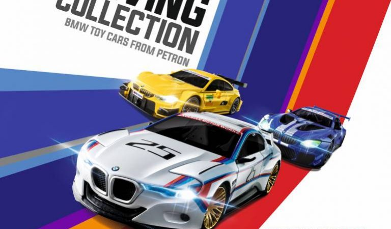 Exclusive to Petron loyalty card holders  The Petron Ultimate Driving Collection featuring BMW supercars