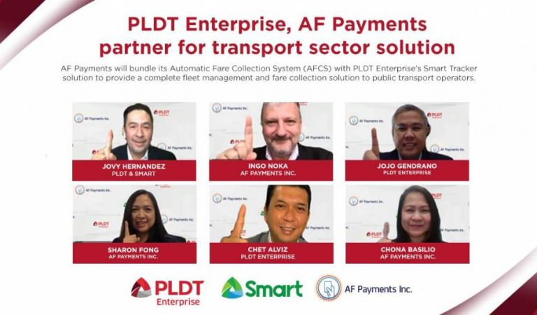 PLDT Enterprise, AF Payments partner for transport sector solution