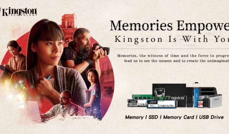 Kingston sets to inspire people with the power of memories and its new ''Kingston Is With You'' campaign