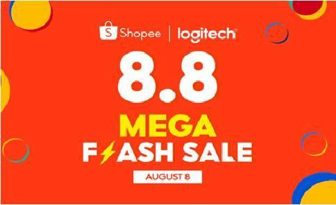 Enjoy Huge Discounts on Logitech Pro Gaming Gear at the Shopee 8.8 Mega Flash Sale