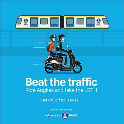 LRMC ties up with Angkas for exclusive fare discount
